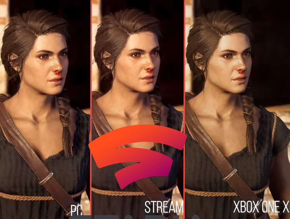 Graphics Quality Comparisons PC, X Box One and Stadia's Wi-Fi Streaming