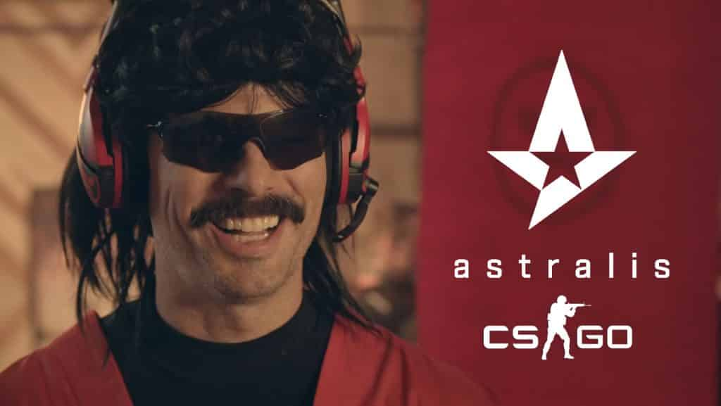 Dr Disrespect Astralis Coach New