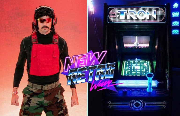 Dr Disrespect Loves Synthwave. Sings to FM-84 Goodbye.