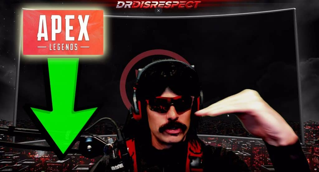 Dr Disrespect Says Apex Legends Going Down Hill. Losing Momentum