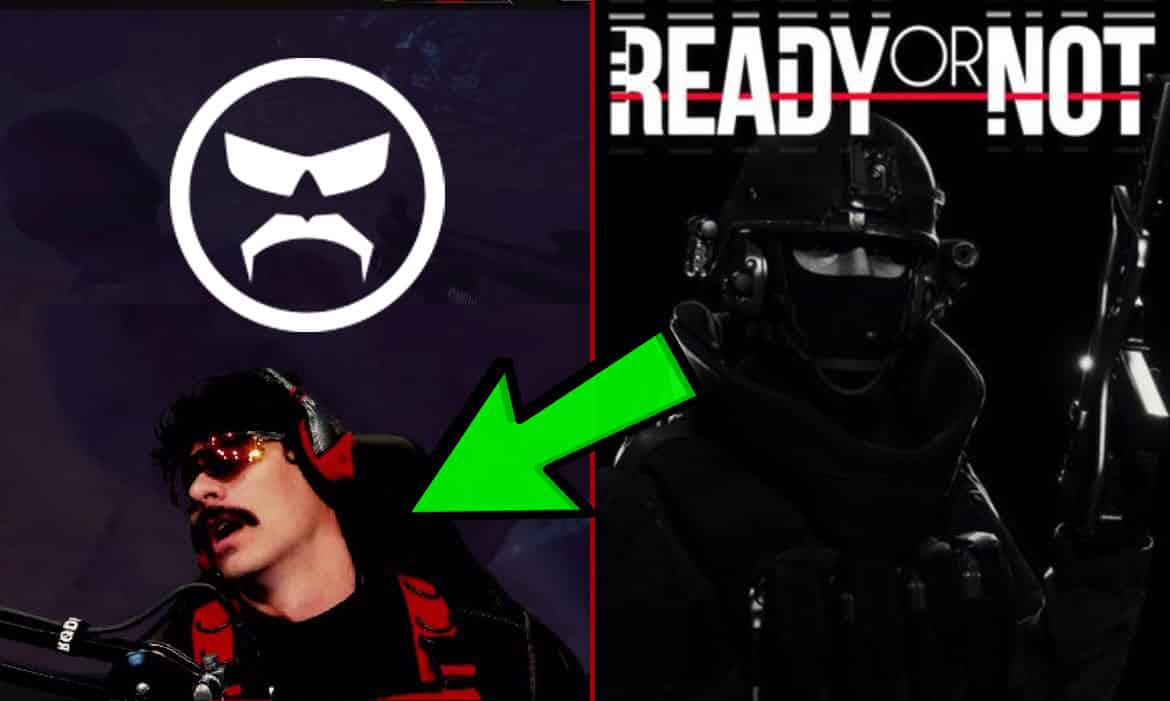 Dr Disrespect Sleeps During Ready or Not Trailer Not a Fan of Game
