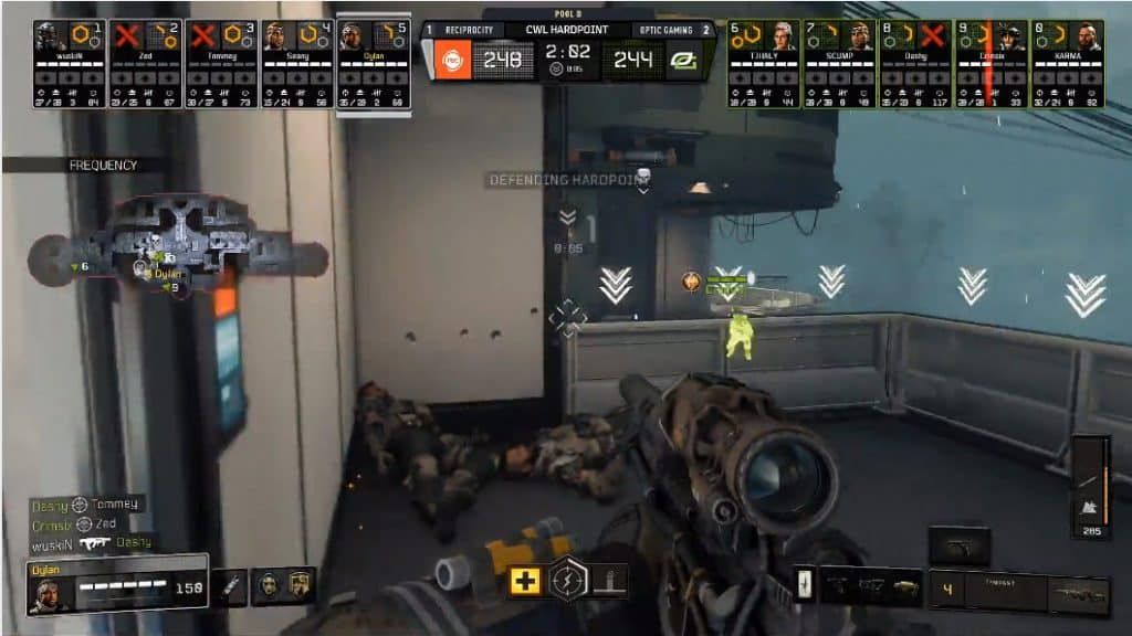 Dylan Team Reciprocity Kill Crimsix OpTic Gaming Hardpoint
