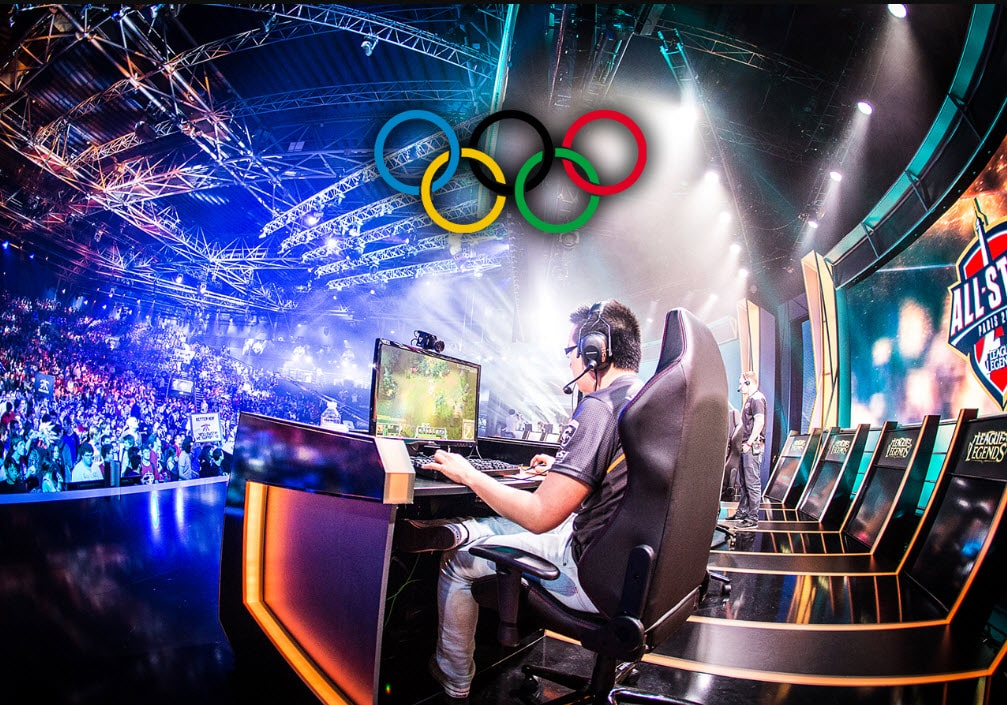 Esports Olympics Gaming World Global Event