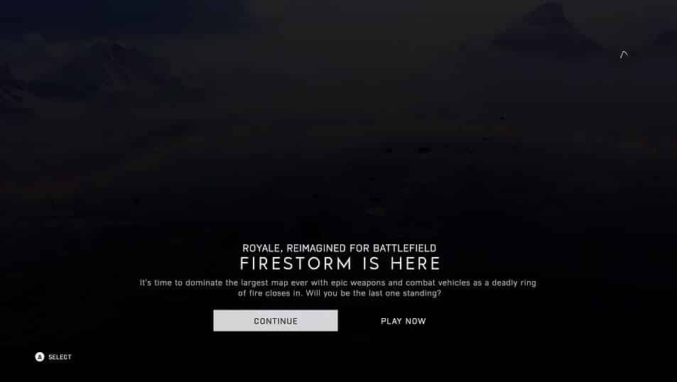 Firestorm Royale Reimagined by EA DICE