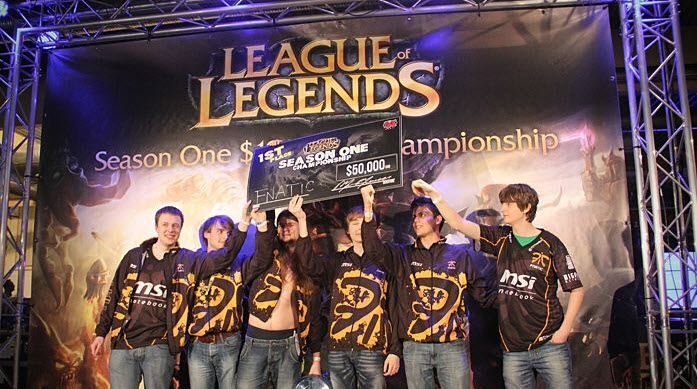 Fnatic 2011 LOL roster