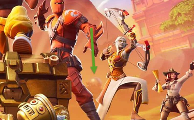 Fortnite Baller Seen in Loading Screen