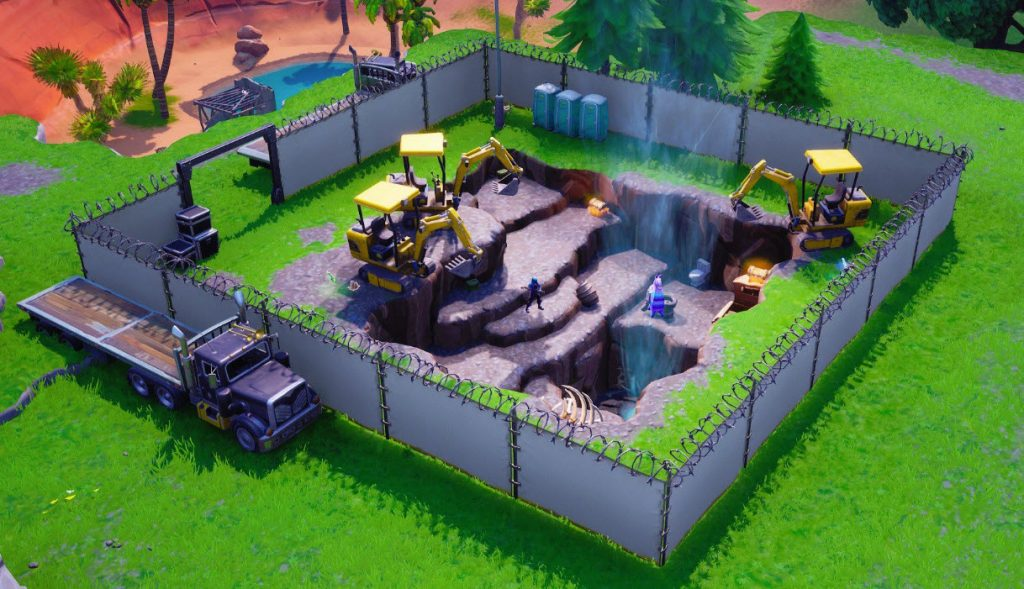 fortnite dig site 1 - excavation sites fortnite