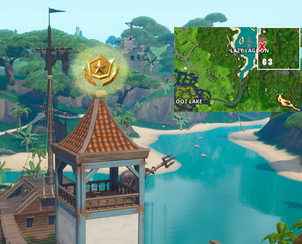 Fortnite Season 8 Week 1 Secret Battle Star Location