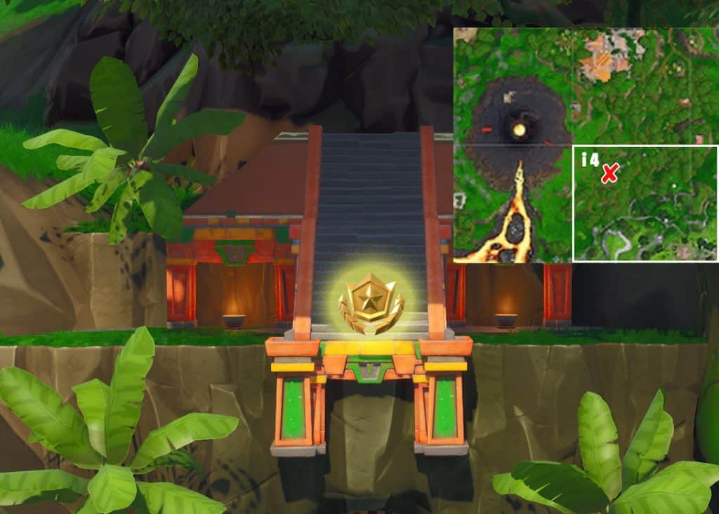 Fortnite Season 8 Week 3 Secret Battle Star Location
