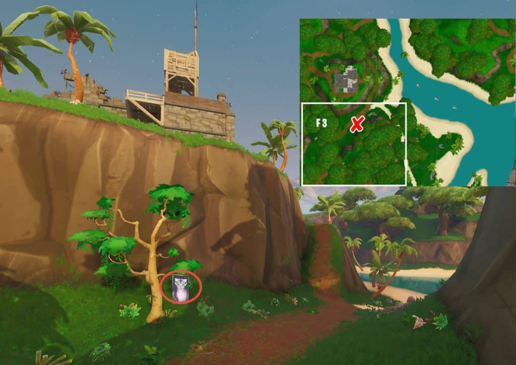 Fortnite Season 8 Week 6 Secret Banner Location