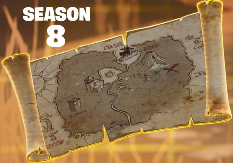 Fortnite Treasure Map