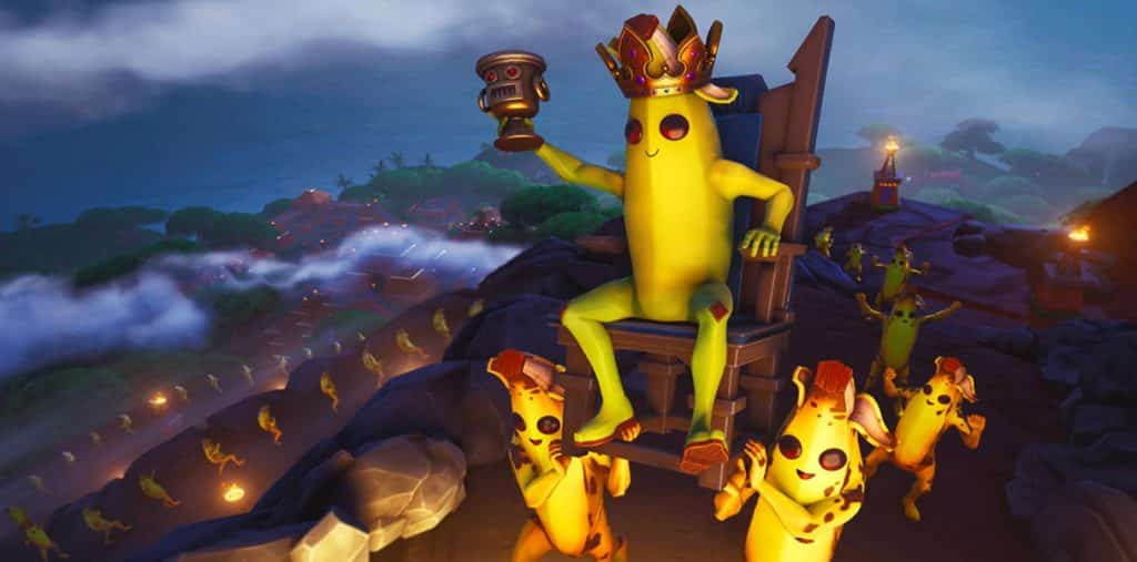 Fortnite Week 4 Loading Screen Bananas