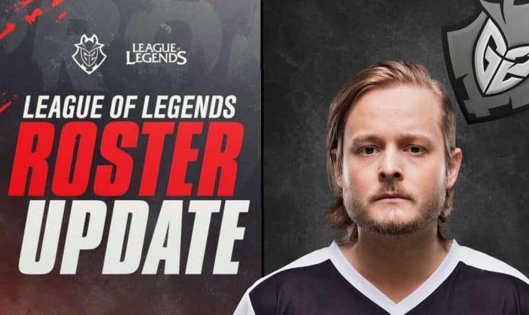 G2 Esports Signs Promisq, Considers Resting Starter Mikyx