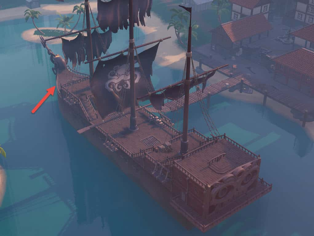 Gather Mats Fast On Pirate Ship