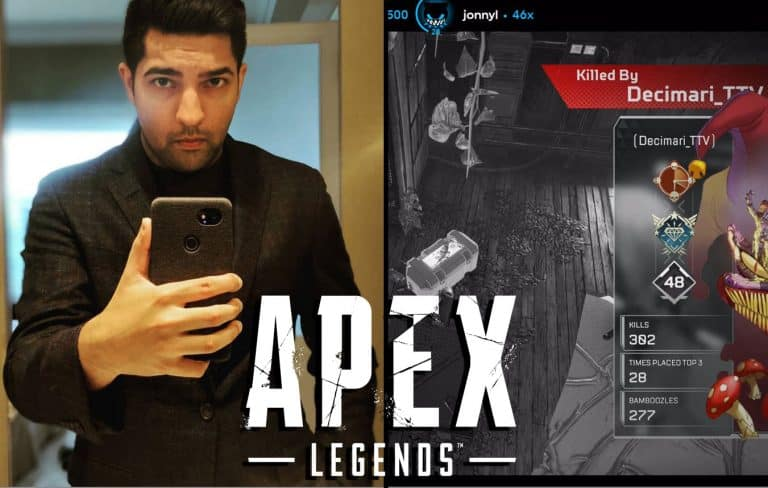 LIRIK Gets Cocky in Apex Legends Pays the Price on Twitch