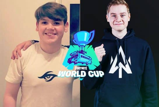 Mongraal and Mitr0 Fortnite World Cup