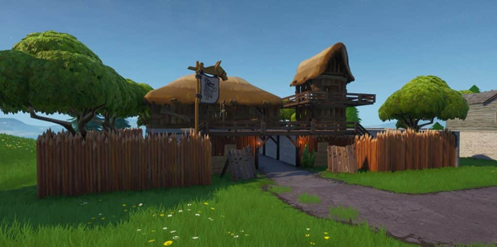 New fortnite Viking Camp Location