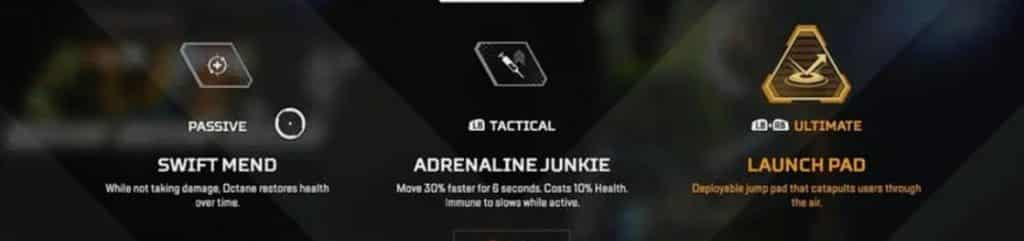 Octane Abilities Apex Legends Launch Pad