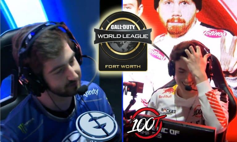 Octane Steals Round from Evil Geniuses. 100 Thieves Win Lucky Round.