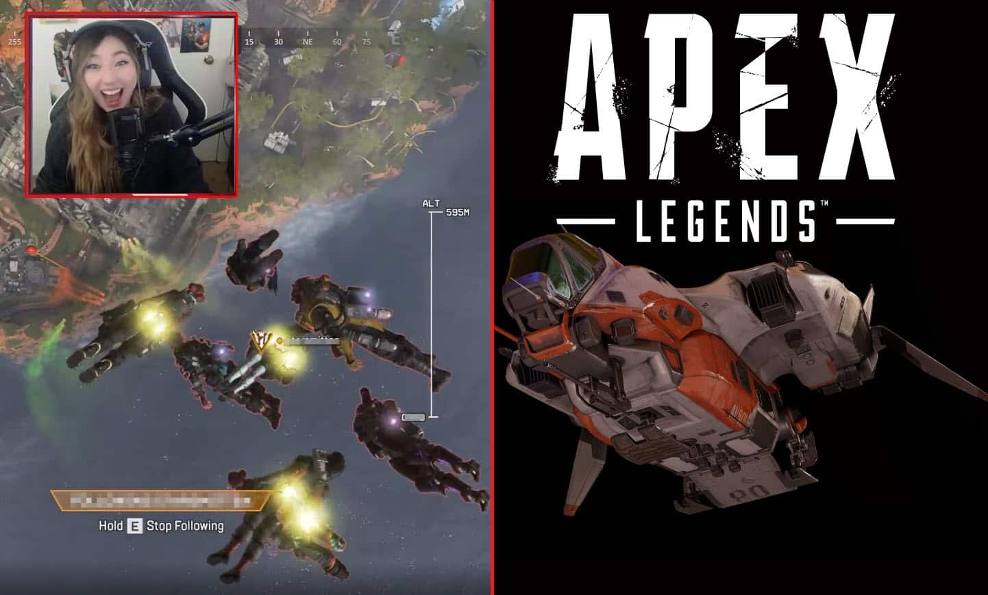 One in a Million Apex Legends Moment from Dropship