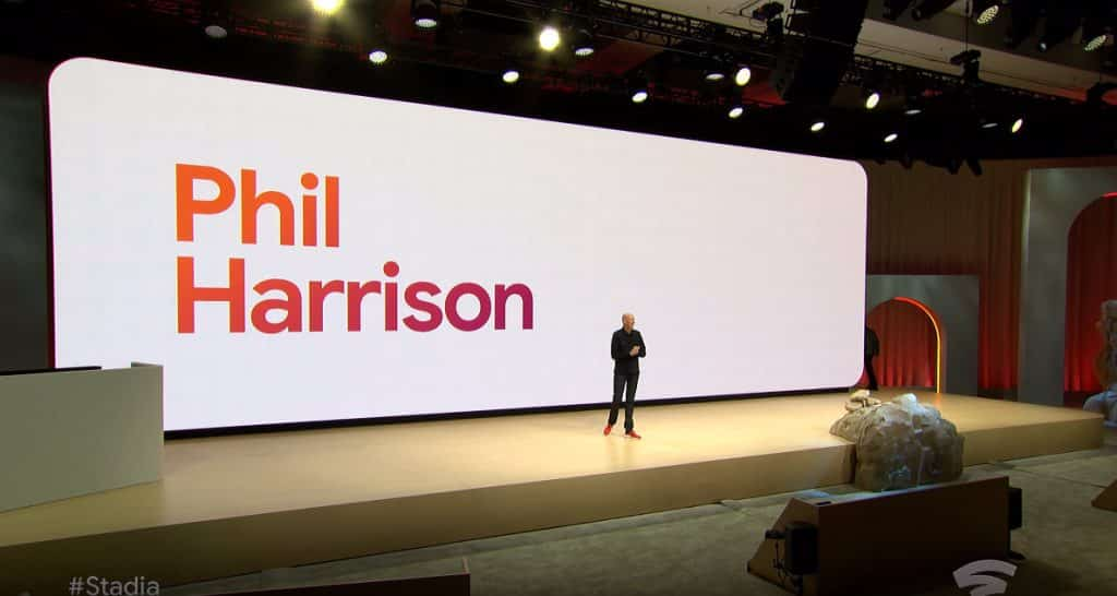 Phil Harrison Google Stadia Presentation