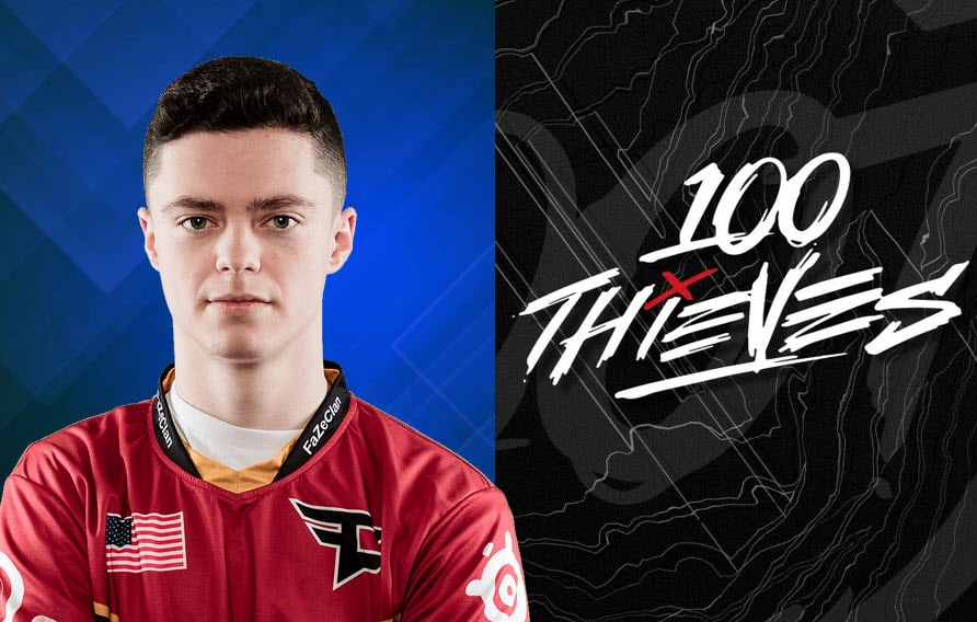 Priestahh - 100 Thieves Gaming CWL Player Stat KD