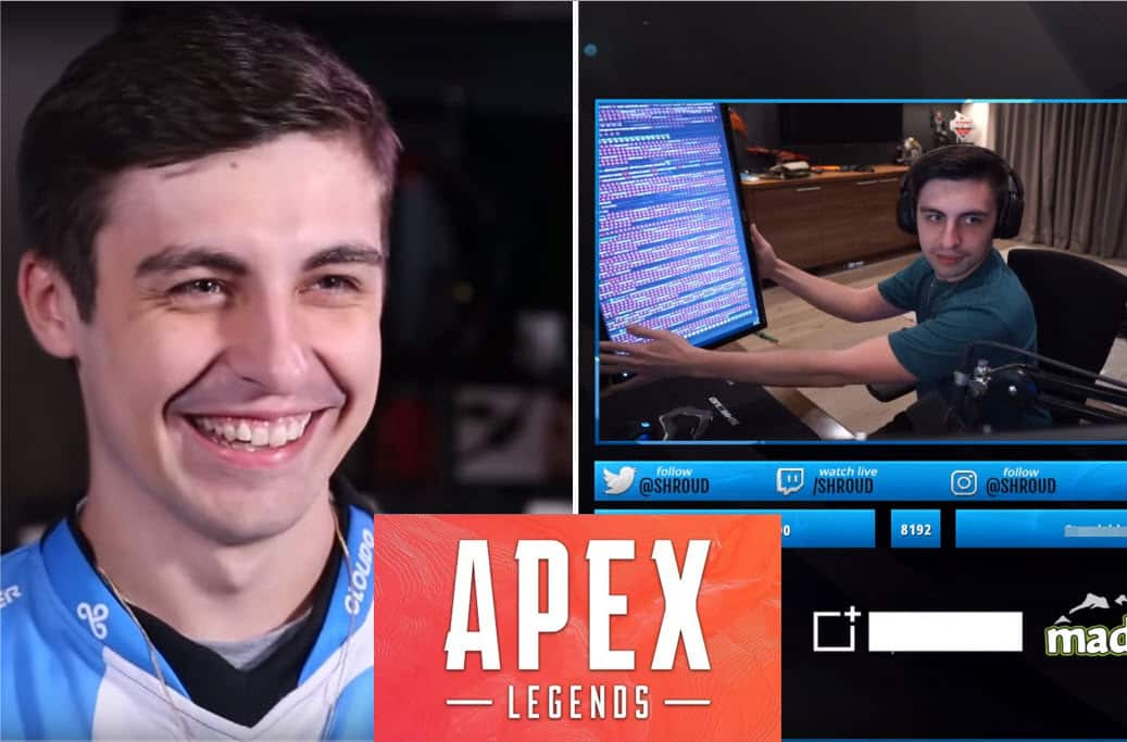 Shroud Does Crab Rave Dance in Apex Legends - Game Life