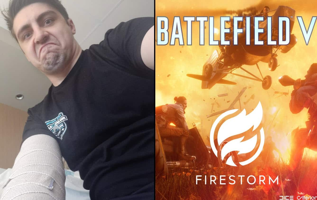 Shroud Gives Harsh Review of Battlefield V Firestorm.