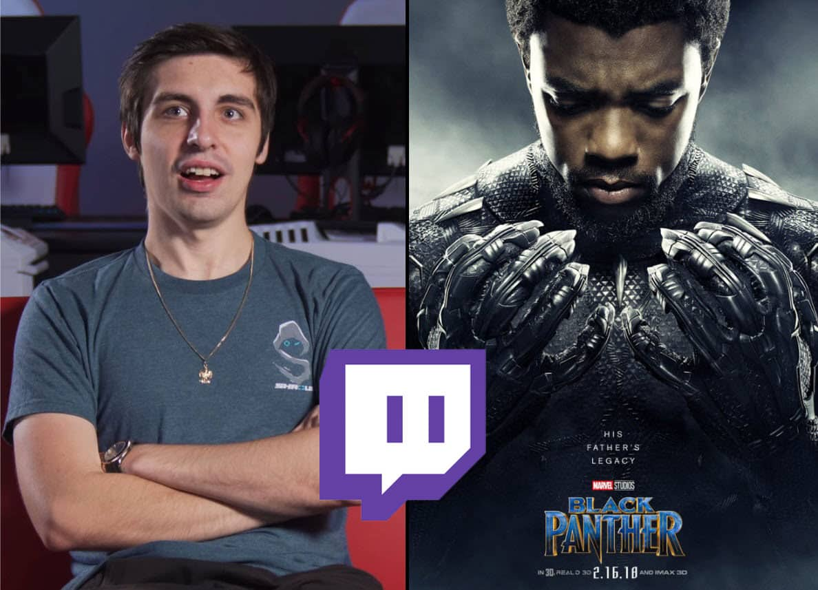 Shroud on Black Panther Movie Just Really Pissed Me Off Hates Film
