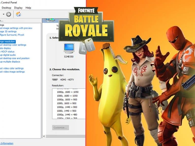 Stretch Resolution For Fortnite