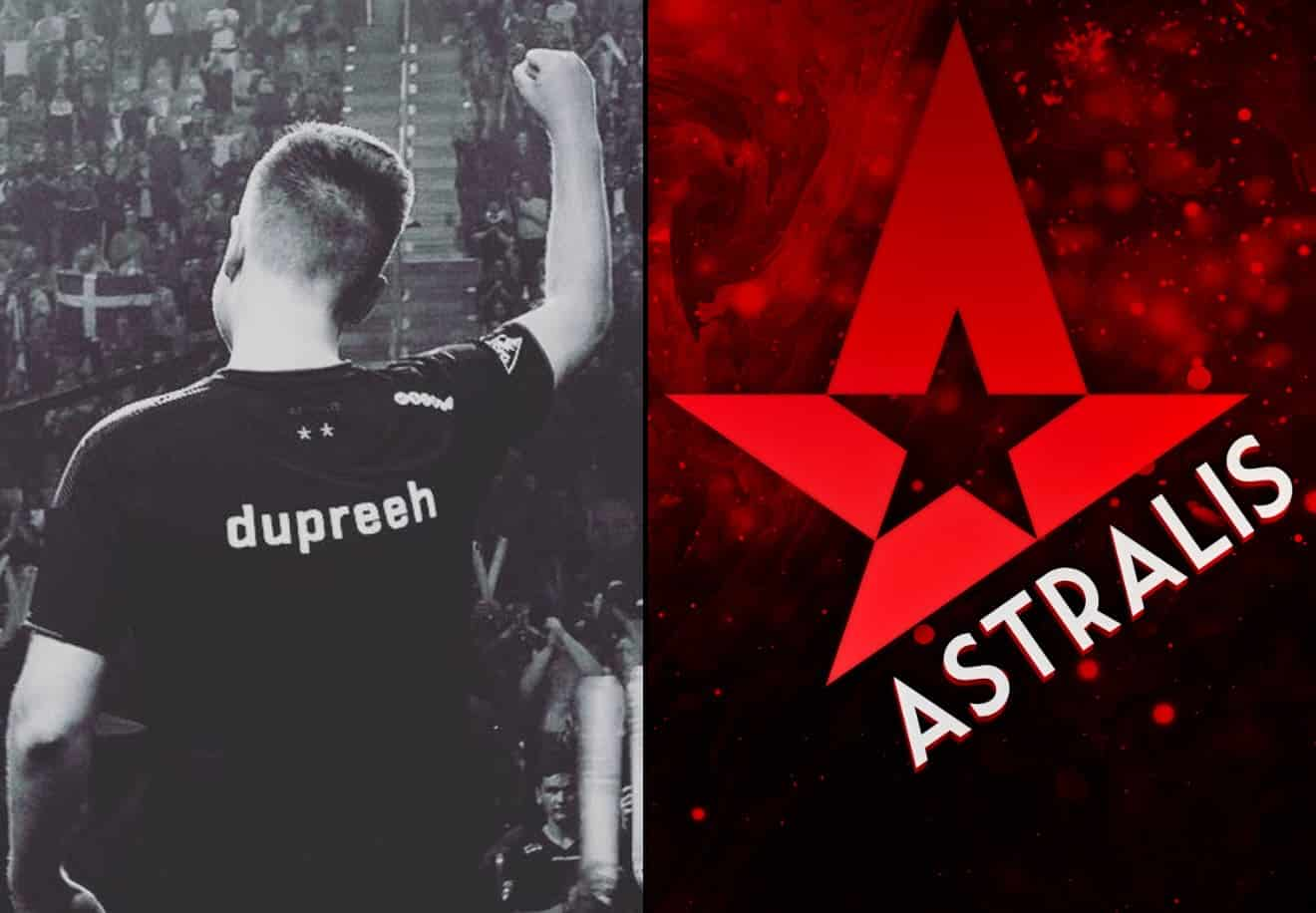 TRUE WARRIOR Dupreeh in Tears. This one is for you, dad Astralis
