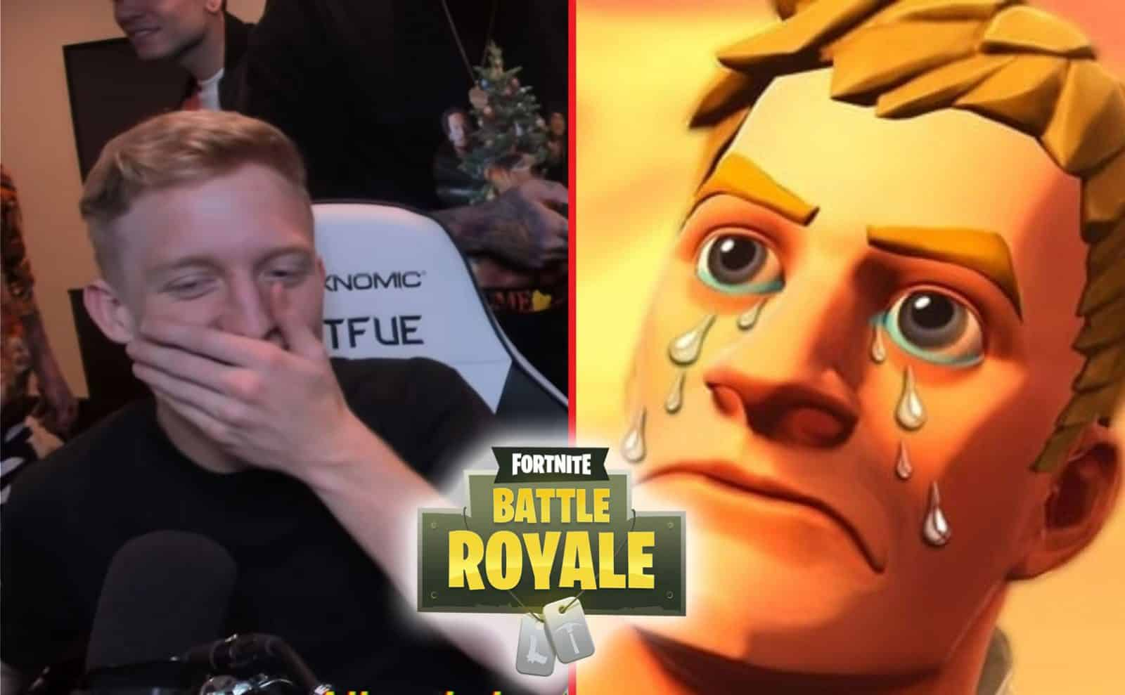 Tfue Not Enjoying The New Season. Wants Things Removed.