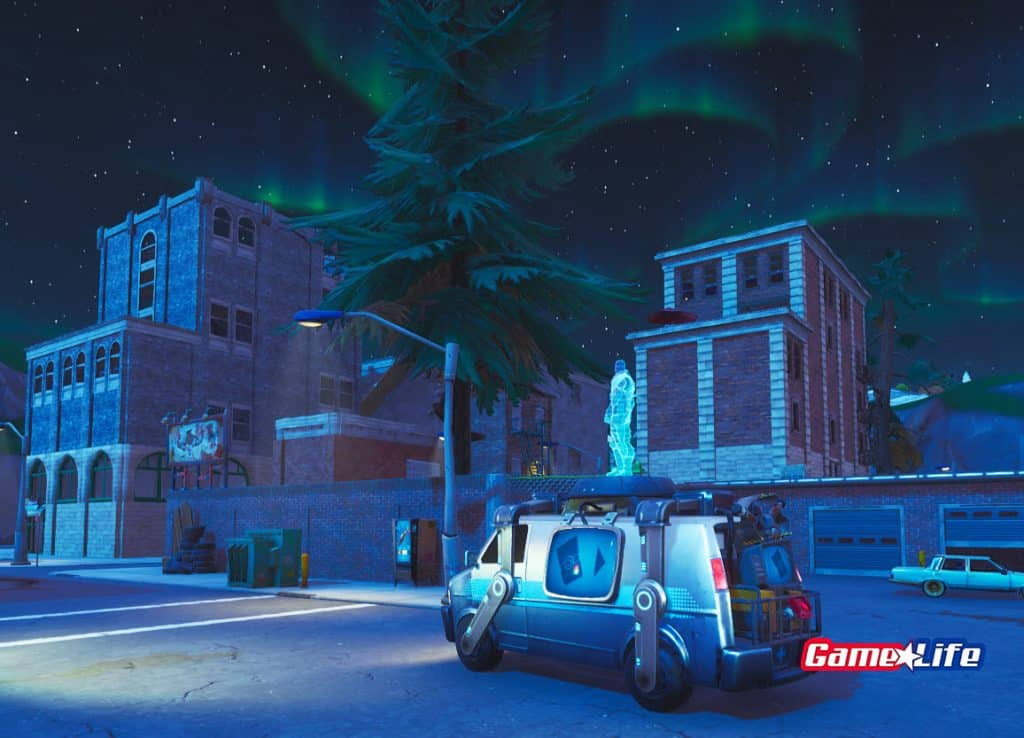 Tilted Towers Respawn Location