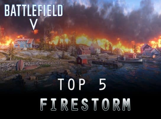 Top 5 Unique Features in Firestorm Battle Royale [Battlefield V]