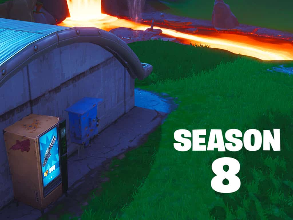 Vending Machine Locations Fortnite Season 8