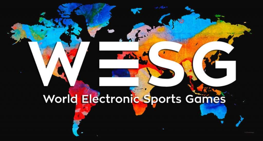 WESG logo World Electronic Sports Games Esports