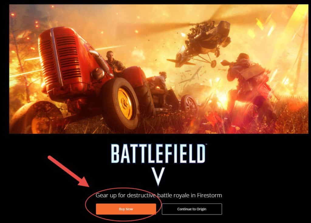 Where to get Battlefield V for PC
