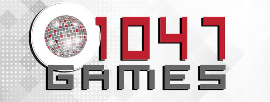 1047 Games Interactive Studio Video Game Company Logo