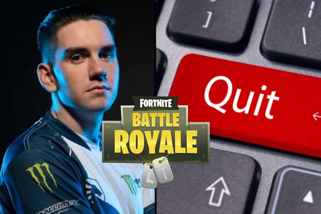 Fortnite Quit | Fortnite Cheating Ban