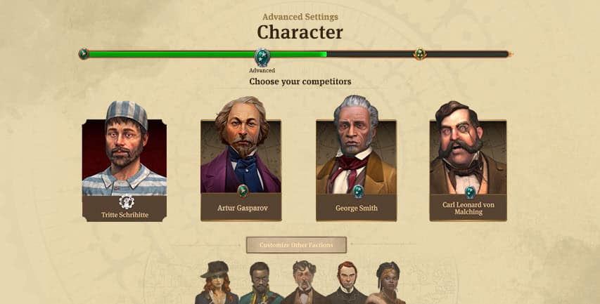 Anno 1800 Characters