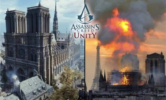 Assassin's Creed Unity Could Help Rebuild The Notre Dame In Paris