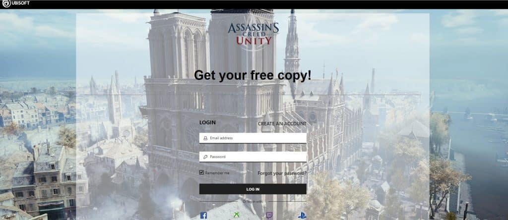 Assassin's Creed Unity Free Download Get Your Free Copy