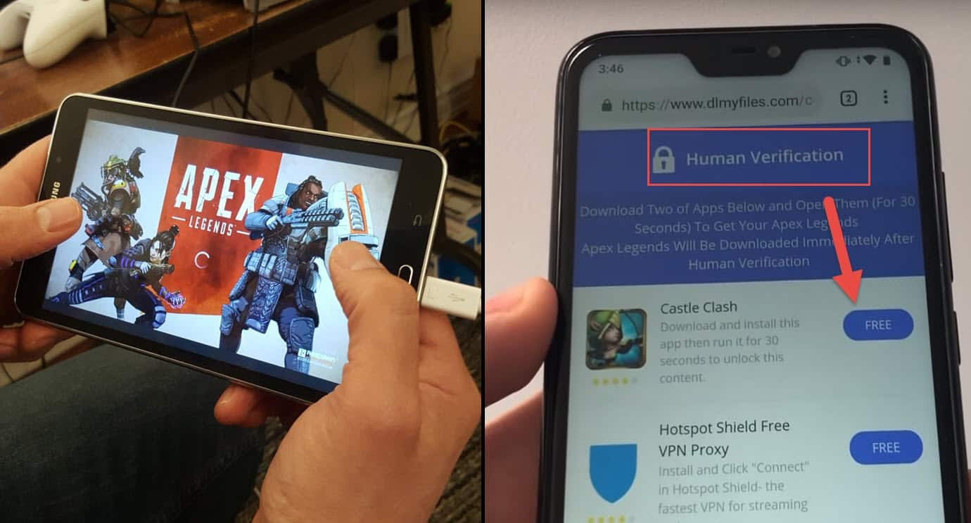 how to install apex legends on mobile
