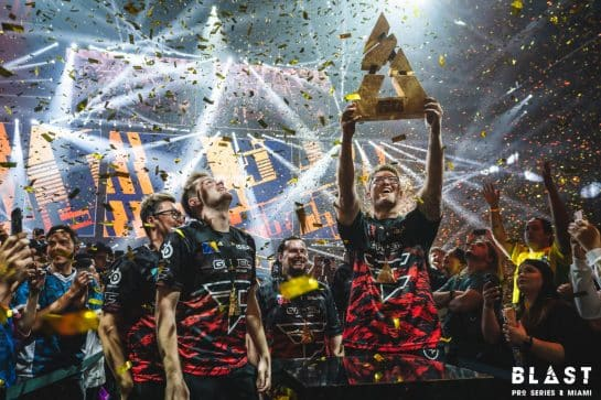 BLAST Pro Miami Champions FaZe Clan Upsets Astralis and Team Liquid