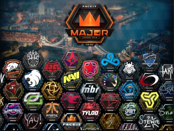 CSGO Esport Sticker and skin sales