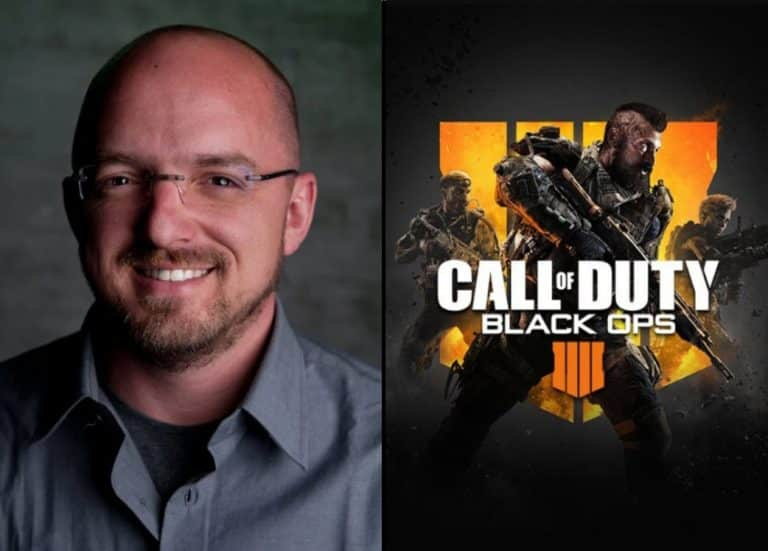 David J. Vonderhaar Responds to Troll on Twitter about Black Ops Blackout
