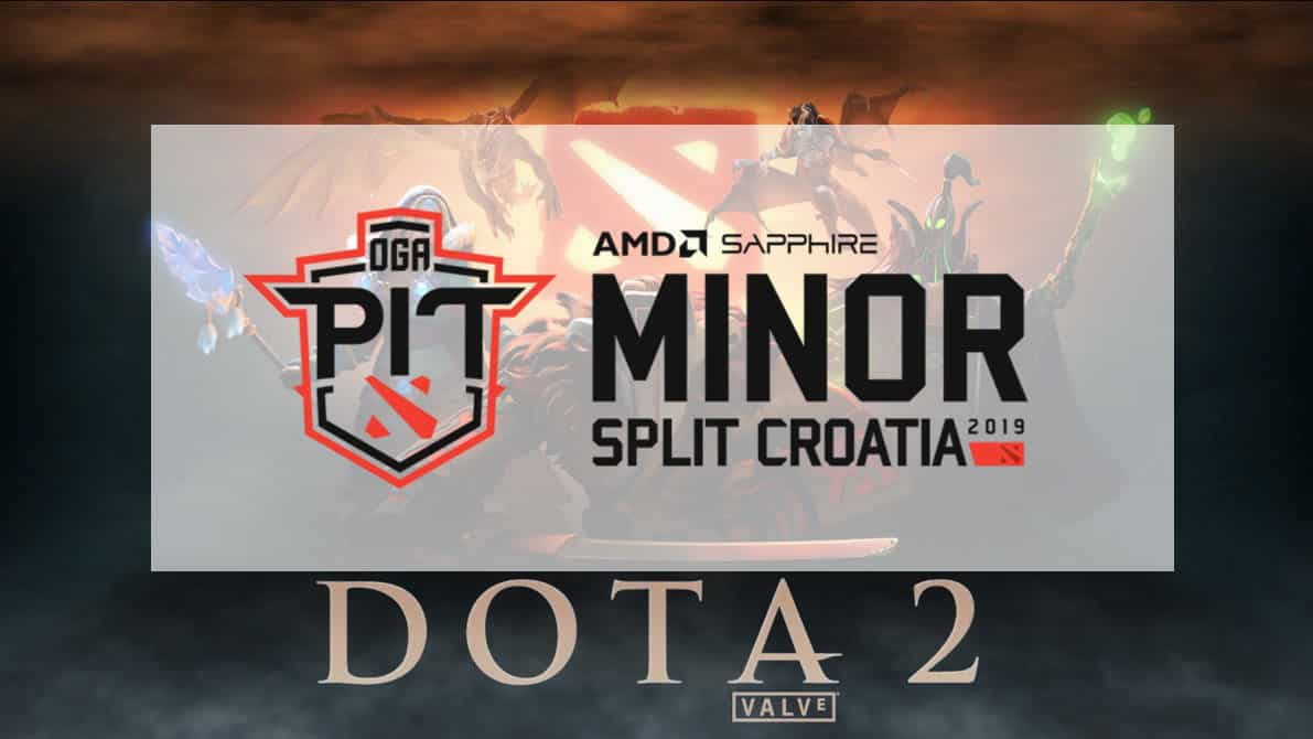 Dota PIT Minor 2019 Group Stage Results
