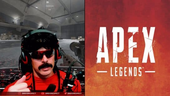 Dr Disrespect Doesn't Like Apex Legends. It's an Incomplete Product