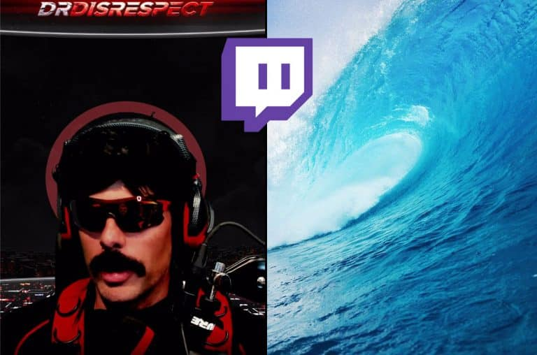 Dr Disrespect Turns into the Love Doctor. Let the Waves Crash Into You