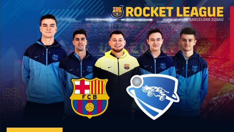 FC Barcelona Creates Rocket League Team